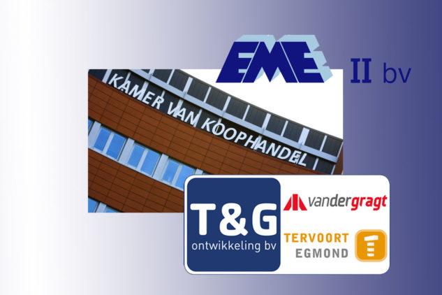 Naam EME II BV gewijzigd in T&G Ontwikkeling BV